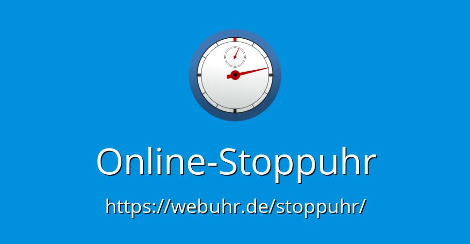stoppuhr online