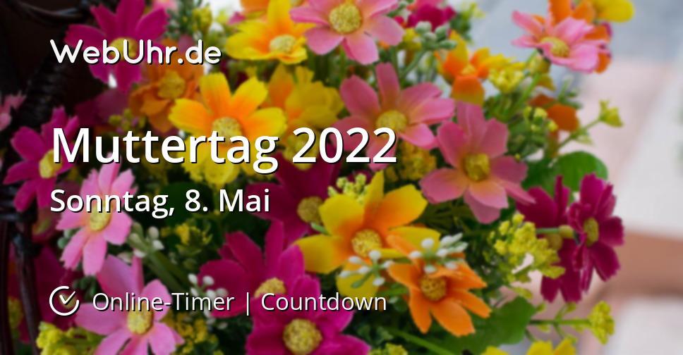 Muttertag 2022
