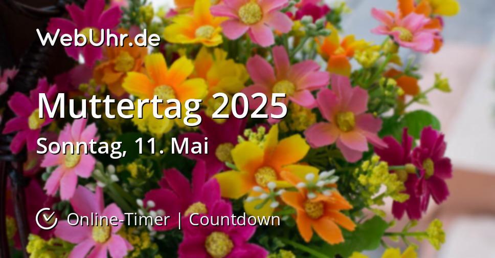 Muttertag 2025