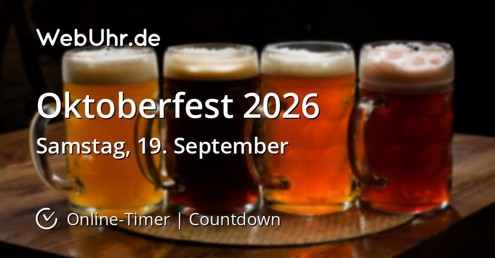 Oktoberfest 2026