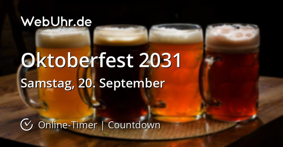 Oktoberfest 2031