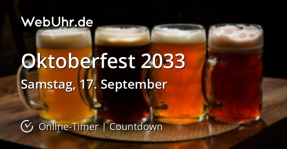 Oktoberfest 2033