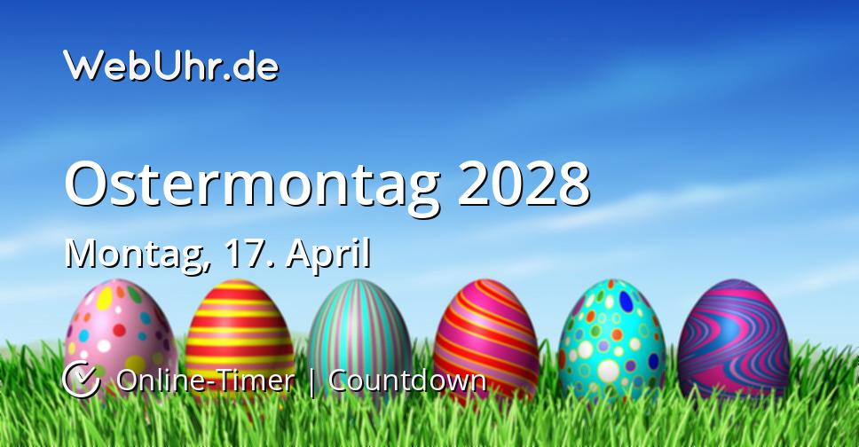 Ostermontag 2028