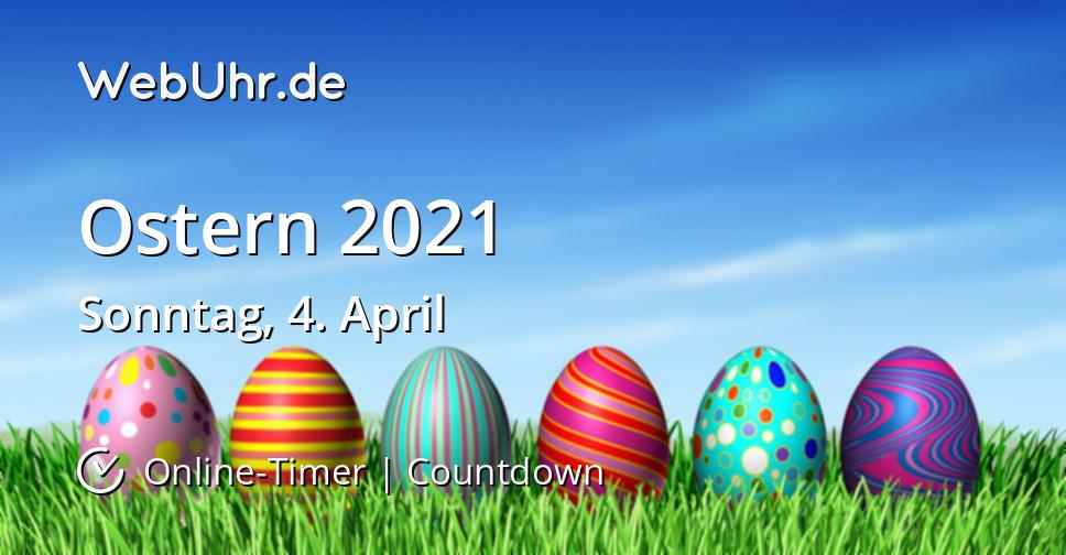 Ostern Datum 2021