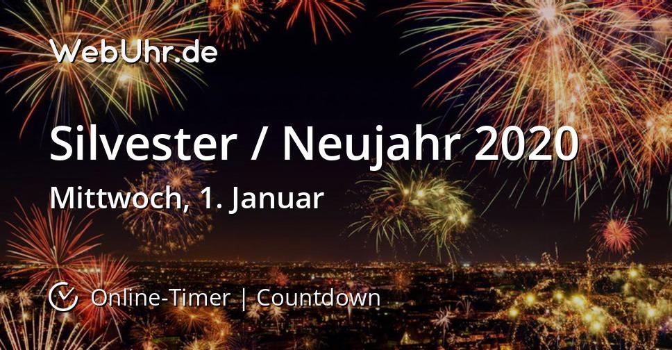 Silvester / Neujahr 2020