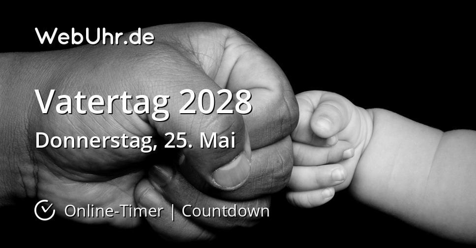 Vatertag 2028
