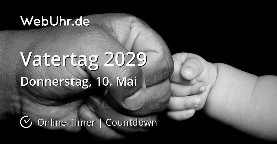 Vatertag 2029
