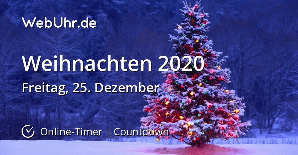 Weihnachts Countdown 2020
