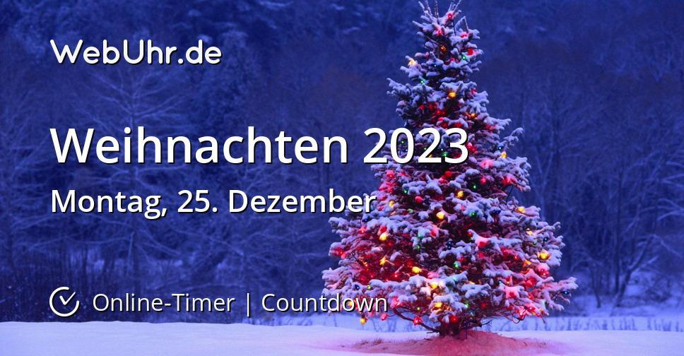Weihnachten 2023