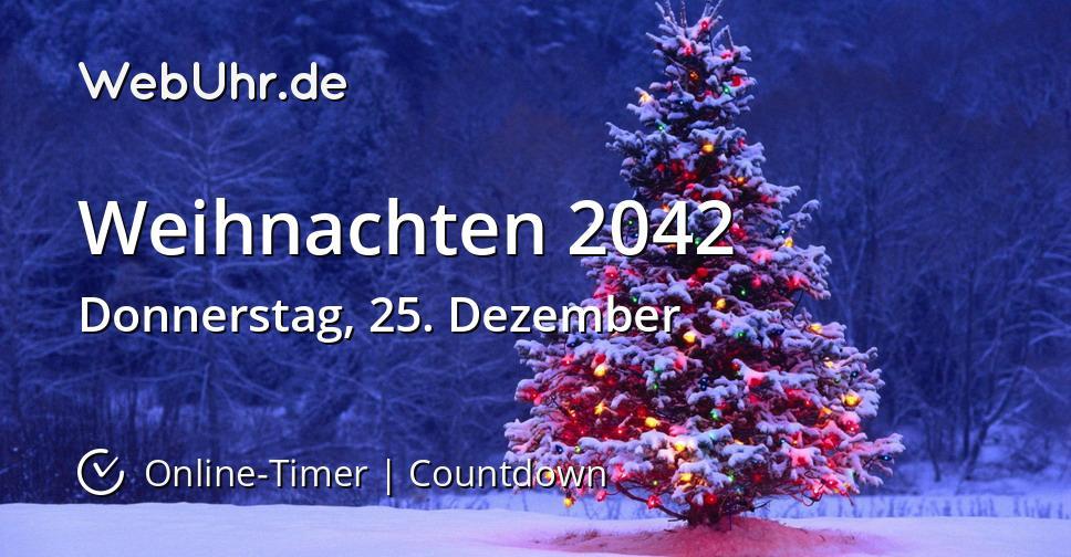 Weihnachten 2042