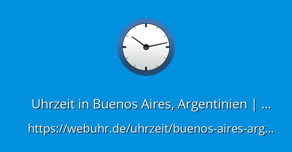 Uhrzeit In Argentinien